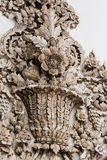 Traditional Thai style sculpture pattern Stock Images