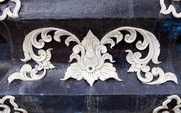 Traditional Thai style stucco. Texture Stock Photos