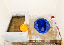 Traditional Thai toilet Royalty Free Stock Photography