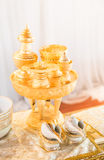 Traditional Thai Wedding ceremony Royalty Free Stock Photography