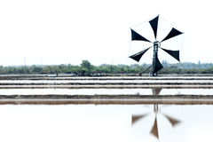 Traditional Thai windmill Stock Image