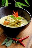 Traditional thai yellow curry Stock Photos