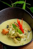Traditional thai yellow curry Royalty Free Stock Photography