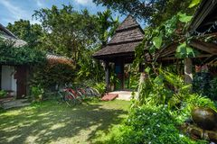 Traditional thail resort and nature travel destinations Stock Photos