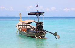 Traditional Thailand boat Royalty Free Stock Photography