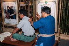 Traditional Thailand Massage Stock Photos