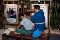 Traditional Thailand Massage Stock Images