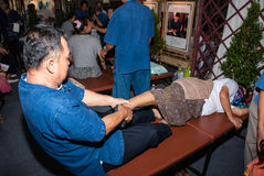 Traditional Thailand Massage Royalty Free Stock Photo