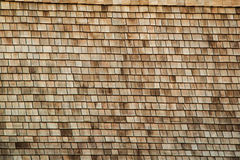 Traditional Thalands roof made of wood royalty free stock photography