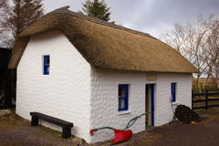 Traditional thatched cottage. Kerry. Ireland Stock Images