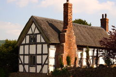 Traditional thatched cottage Stock Image