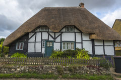 Traditional Thatched cottage Stock Photos