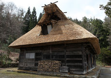 Traditional thatched hut Stock Image
