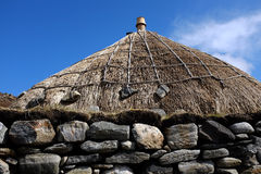 Traditional thatched roof. Stock Photography