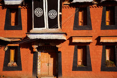 Traditional Tibetan Architecture Stock Photography