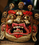 Traditional Tibetan Mahakala mask Royalty Free Stock Photo