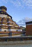 Traditional Tibetan monastery Stock Image