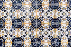 Moroccan vintage tile textured background royalty free stock image