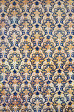 Traditional Tiled Wall Background Royalty Free Stock Photo