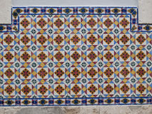 Traditional tiles Royalty Free Stock Image
