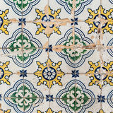 Traditional tiles azulejos Lisbon, Portugal Royalty Free Stock Photo