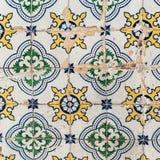 Traditional tiles azulejos Lisbon, Portugal Royalty Free Stock Photo
