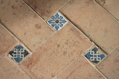 Traditional tiles from old house Spain Royalty Free Stock Images