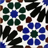 Traditional tiles from Porto Royalty Free Stock Photo