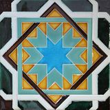Traditional tiles from Porto, Portugal Royalty Free Stock Photo