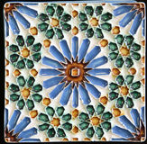 Traditional tiles from Porto, Portugal Stock Photos
