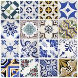 Traditional tiles from Porto, Portugal Stock Image