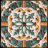 Traditional tiles from Porto, Portugal Royalty Free Stock Photography