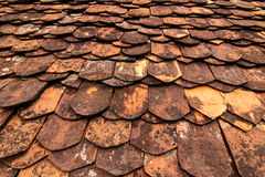 Traditional tiles roof Stock Photo