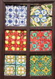 Traditional tiles, from sicily Royalty Free Stock Image