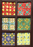 Traditional tiles, from sicily Stock Images