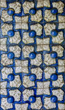 Traditional tiles from Sintra, Portugal Stock Image
