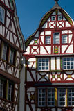 Traditional timber houses in Mosel Valley Germany Royalty Free Stock Photography