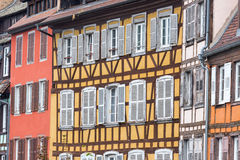 Traditional timbered house in petite france,Strasbourg,Alsace Stock Photography