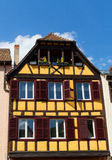 Traditional timbered house in petite france, Strasbourg, Alsace, France Stock Image