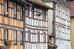 Traditional timbered house in petite france,Strasbourg,Fr Royalty Free Stock Image