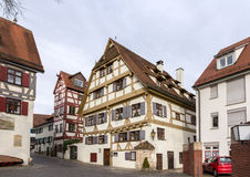 Traditional timbered house in Ulm, Germany Stock Image