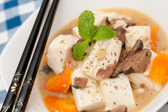 Traditional tofu dish Royalty Free Stock Photos
