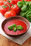 Traditional tomato soup Royalty Free Stock Photos