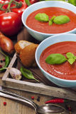 Traditional tomato soup Royalty Free Stock Image