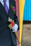 Traditional toraja hatchet Royalty Free Stock Photo