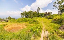 Traditional Toraja village in idyllic landscape Stock Photos