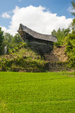 Traditional Toraja village in idyllic rural landscape Royalty Free Stock Photography