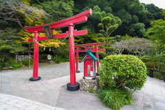 Traditional torii gate. royalty free stock images