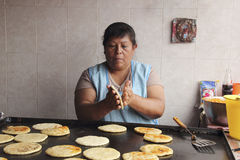 Traditional tortillas Stock Photography