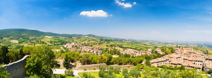 Traditional Toscana Italy landscape Royalty Free Stock Images